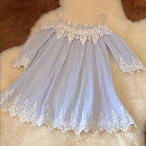 Baby blue summer dress ☀️
